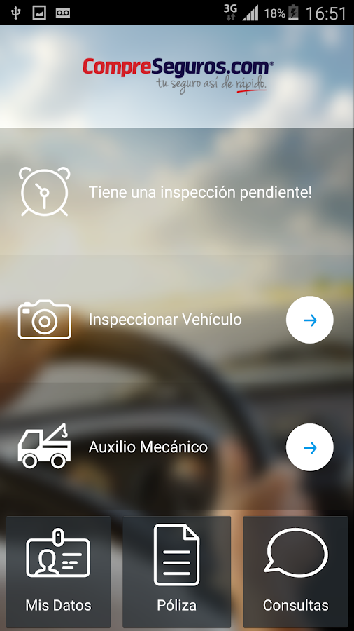 compreseguros.com- screenshot
