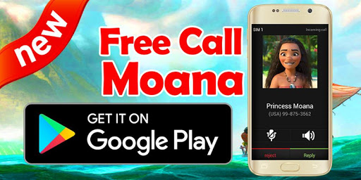 Call From Moana - Prank for PC