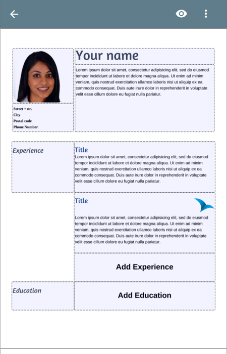 free resume app android apps on play