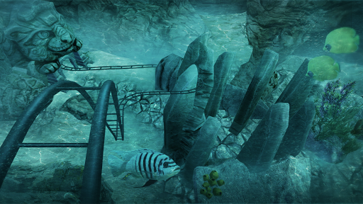 VR Roller Coaster Temple Rider  screenshots 5