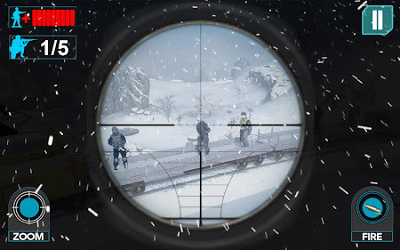 Mountain Train Sniper Shooting 1.2 screenshot 1113923