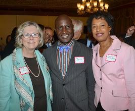 Photo: Chief Justice Barbara Rouse (Superior Court), Dr. Ebi Okara (Metis Psychological Associates, LLC), and Judge Barbara Dortch-Okara (Ret.) (New England Law   Boston).