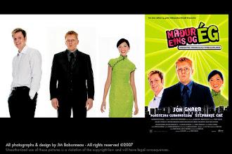 Photo: Stills & Studio portraits of actors in long-feature film, in Reykjavík, Iceland (2001) © photo by jean-marie babonneau www.betterworldinc.org