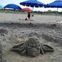 Scultura di sabbia di