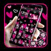 Lovely Pink Heart Theme APK
