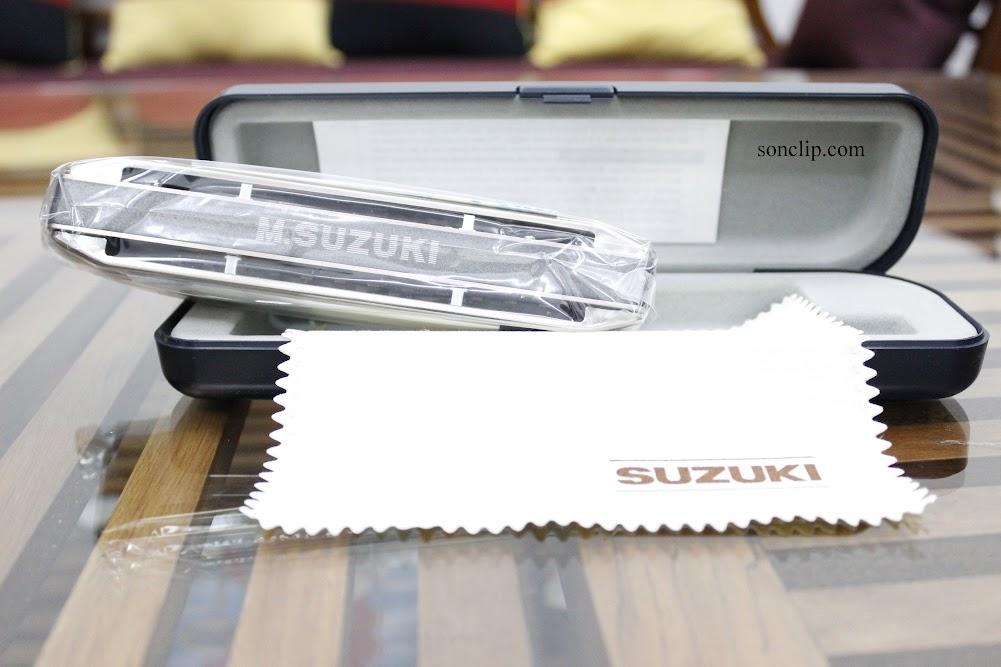 Kèn Harmonica - Suzuki Sirius S-56s