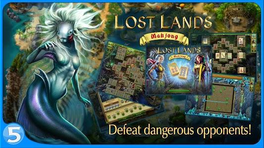Lost Lands: Mahjong screenshot 3