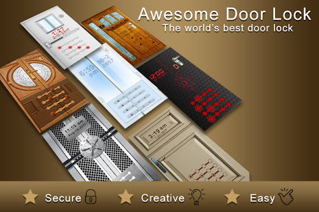 Awesome Door Lock Screen - náhled
