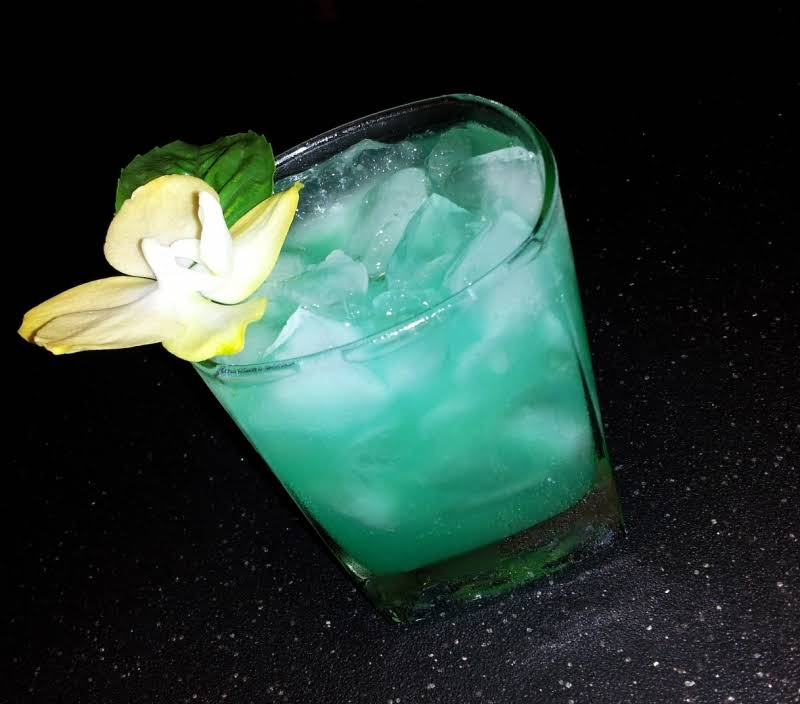 Chasing The Green Dragon Drink