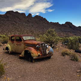 Nelson Ghost Town, NV by Stephen Terakami - Novices Only Landscapes ( las vegas, nevada, ghost town, henderson, nelson )