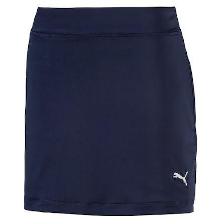Puma Golf Girls Solid Knit Skirt Peacoat