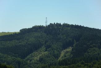 Photo: Widoczna wieża widokowa na szczycie.