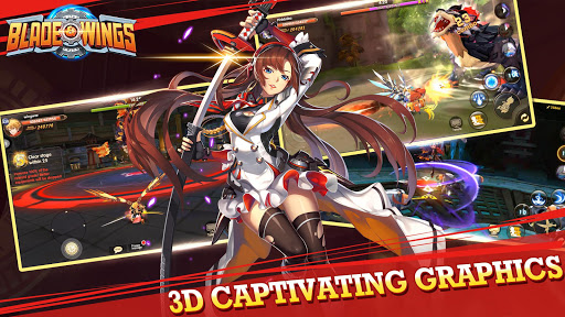 Blade & Wings: Future Fantasy 3D Anime MMORPG Game 1 8