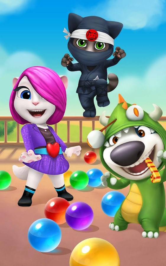Talking Tom Bubble Shooter - Android Apps on Google Play
