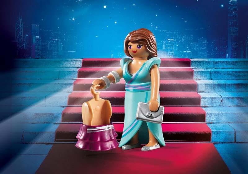 Contenido real de Playmobil® 6884 Moda Noche