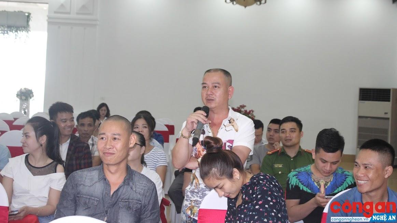 Thường xuyên lắng nghe ý kiến của nhân dân giúp Công an Nghệ An tiếp tục hoàn thiện cải cách hành chính