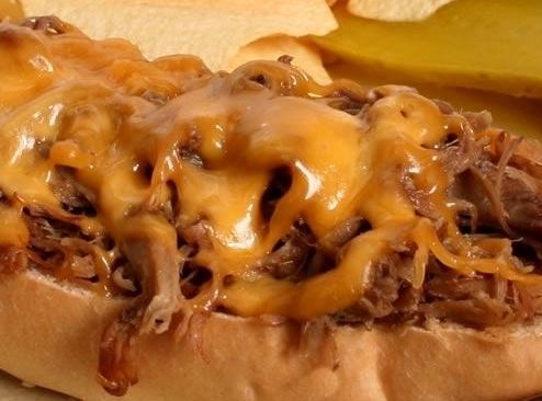 Beef - N - Cheddar Hoagie Recipe