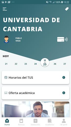 Universidad de Cantabria screenshot 2