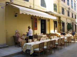 Photo: Street Restaurant Corfu