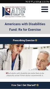 Rx for Exercise- screenshot thumbnail