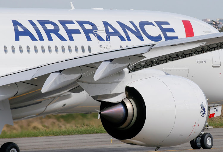 An Air France Airbus A350 prepares to take off in Colomiers near Toulouse, France. Picture: REUTERS/REGIS DUVIGNAU
