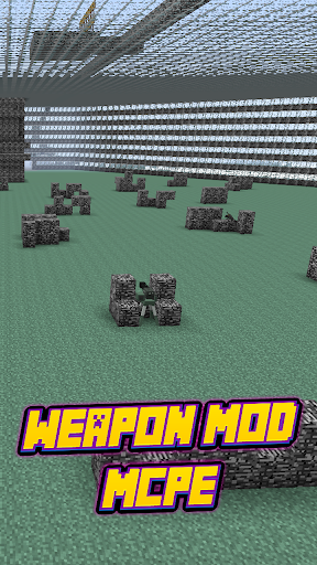 Weapon Mod For MCPE.