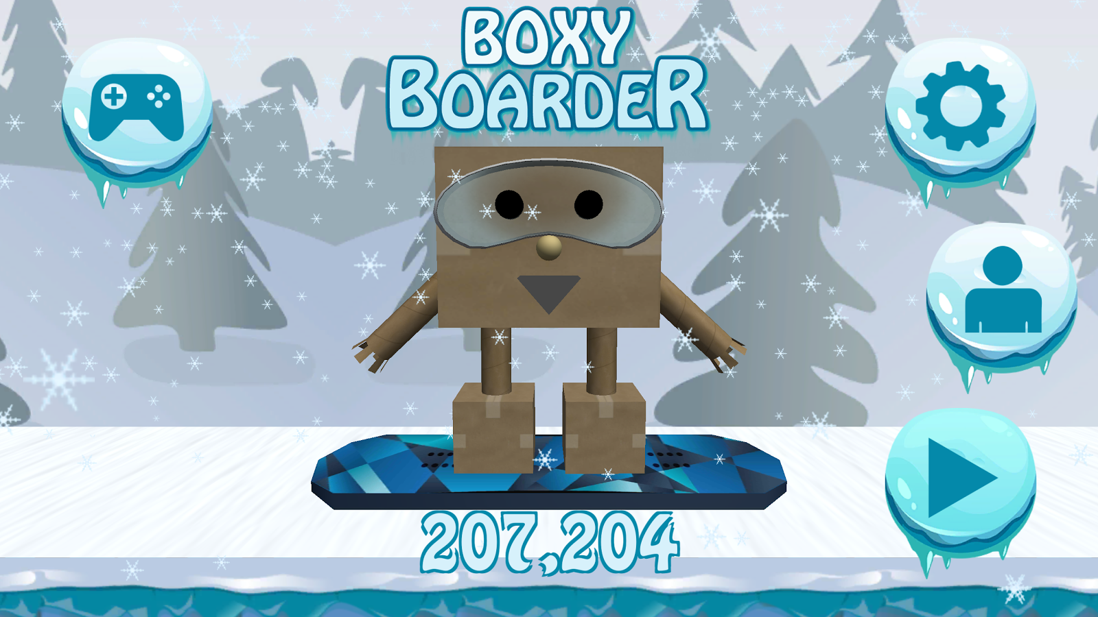 Boxy Boarder- screenshot