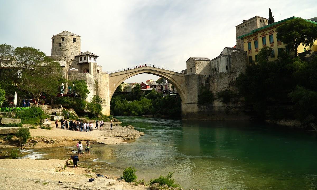 Stary most w Mostar, Bośnia i Hercegowina