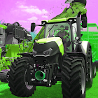 Real Farmer Tractor Sim 2019:Farming Simulator 3D icon
