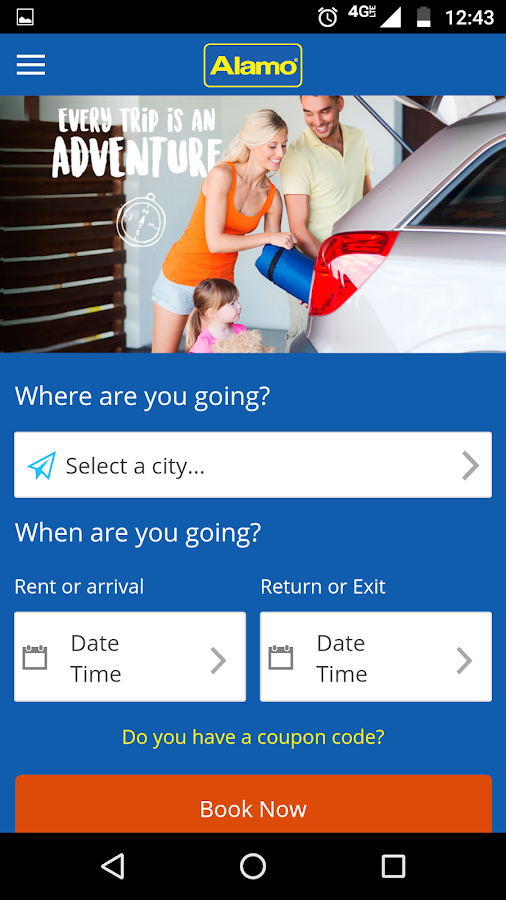 Alamo Rent A Car- screenshot