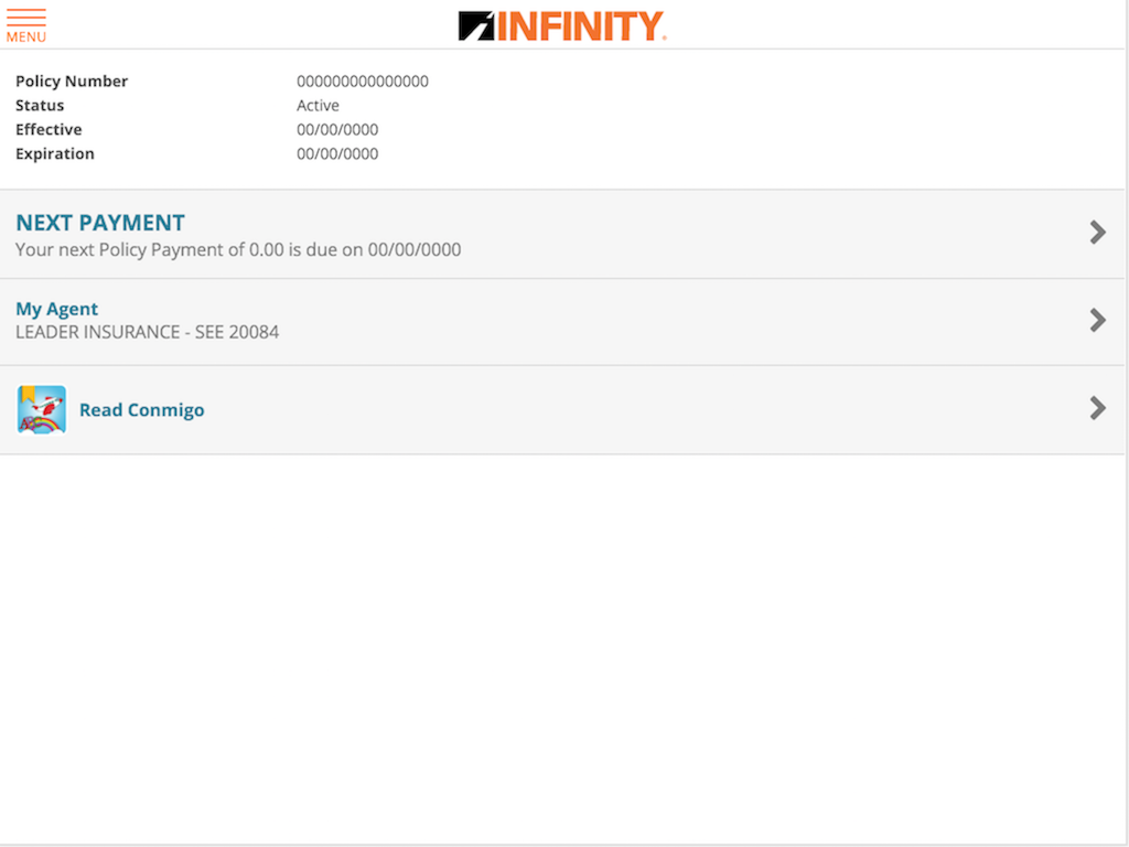 Infinity Auto- screenshot