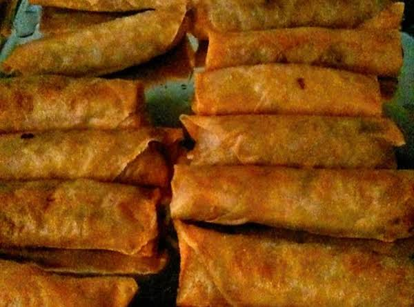 Easy Pork Egg Rolls