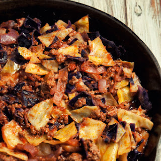 Skillet Cabbage With Ground Beef Recipes.