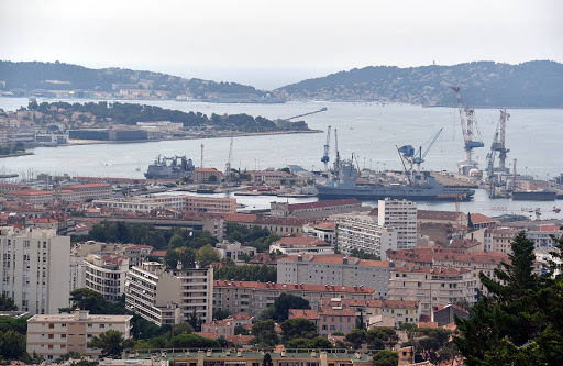 DSC_0728.jpg - Views of the marina from Mount Faron highest point of Toulon