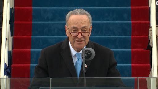 Senator Chuck Schumer's 'fake news'