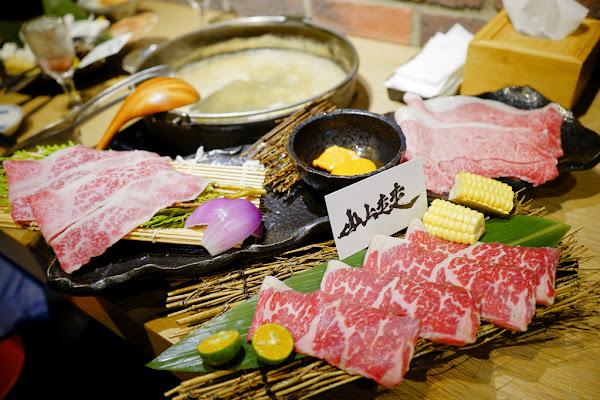 竹|山上走走 A5和牛沾海膽蛋黃醬+活體龍蝦三吃之日式無菜單海鮮鍋物