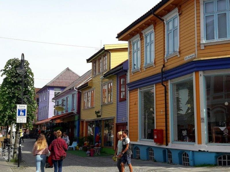 Круиз Aida Sol по норвежским фьордам в августе 2017.