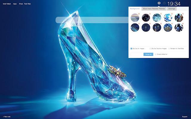 Cinderella Best Theme Wallpaper HD 2019