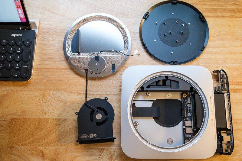 Phan cung ben trong Mac Mini M1 2020