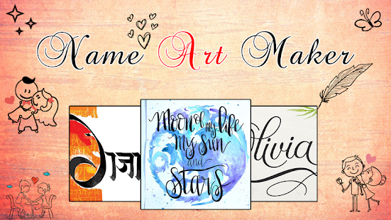 Name Art - Focus And Filters - náhled