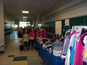 Photo: Kylee's Kare Kits for Kidz Clothing Sale at the Sky View Winter Carnival on January 26, 2013.