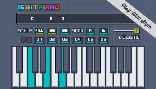 16Bit Piano - náhled