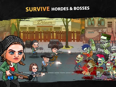 Zombieland: AFK Survival MOD APK [Unlimited Money + Mod Menu] 8