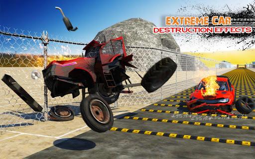Deadly Car Crash Engine Damage: Speed Bump Race 18 screenshot 7