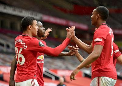 Manchester United s'impose facilement à Aston Villa