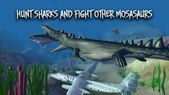 Megalodon vs Dino: Sea Monsters Battle- screenshot thumbnail