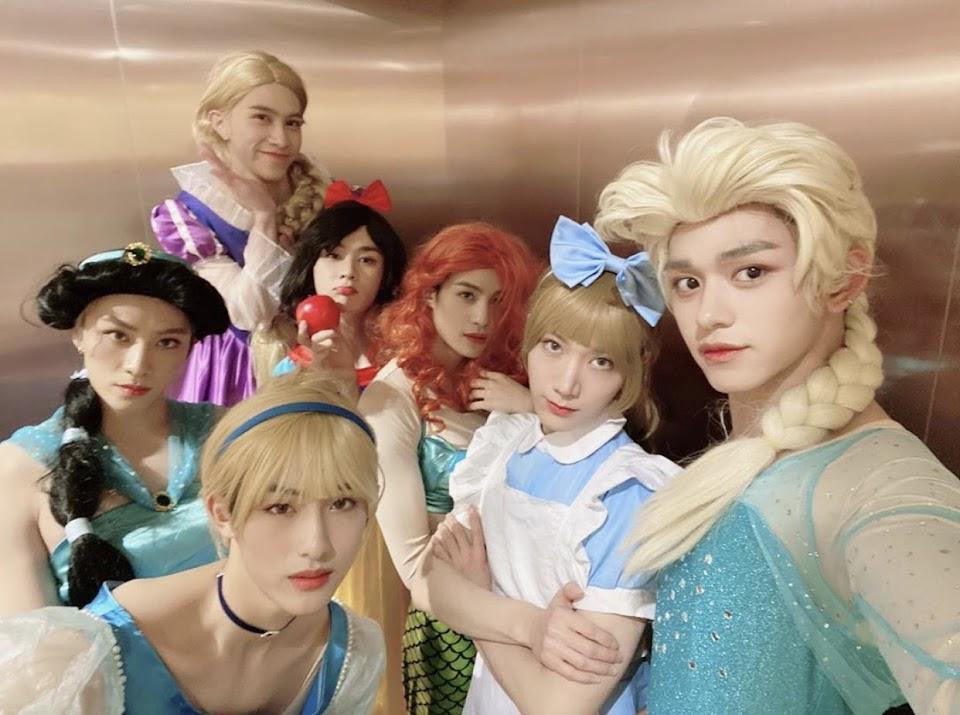 wayv disney princesses yangyang_x2