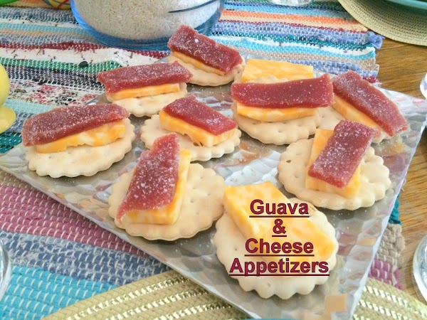 Guava And Cheese Appetizers Recipe