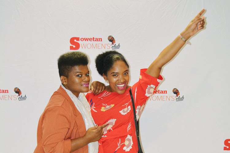 Sowetan Women's Club members enjoying a recent movie screening.