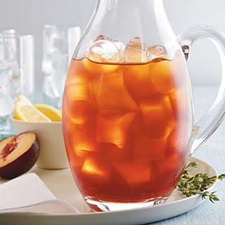 Plum-Thyme Iced Tea.